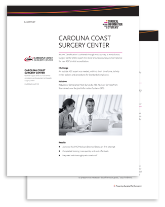 AAAHC/Medicare Status Case Study