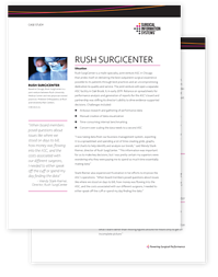 Rush Surgicenter Case Study