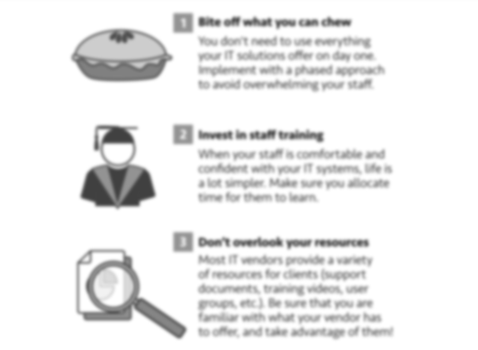 5 Simple Steps to Improve Your ASC's IT Experience Infographic