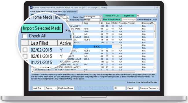 Electronic Medication Reconciliation Software
