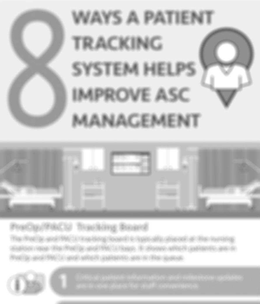 8 Ways Patient Tracking Improves ASC Management